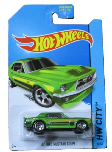Hot Wheels - HW City 93/250 - '67 Ford Mustang Coupe - 1