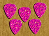 Love Pink 5 X loose Guitar Picks