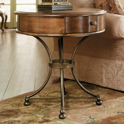Cheap Siena Round Storage End Table by Hammary – Tuscany (T1007940-00) (T1007940-00)