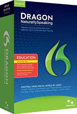 Dragon NaturallySpeaking Premium v12 - éducation