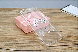 Thin Clear Soft Pretty Love Birds Design Phone Cover for iPhone 6(6)