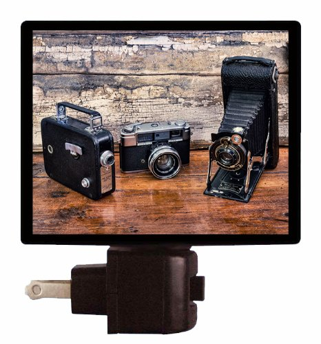 Camera Night Light - Vintage Cameras