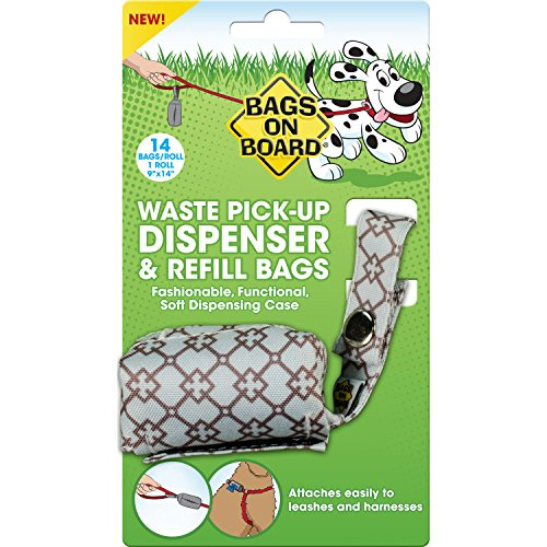 bags-on-board-fashion-dispenser-blue-diamond-pet-waste-pick-up-refill-bags-14ct