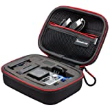 "Smatree Black 5.9"" x2.7"" x4.7"" Carrying and Travel Case for One GoPro Hero3 Hero3+ Camera & Accessories"