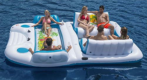 Giant 6 Person Inflatable Raft for Pool Lake and River Rafting