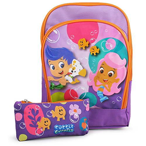 Bubble Guppies Toddler Backpack with Pencil Case (Bubble Pack Case compare prices)