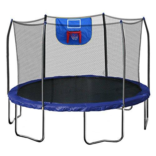 Jump N' Dunk Trampoline with Safety Enclosure