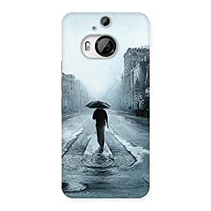 Beautiful Walking Rain Back Case Cover for HTC One M9 Plus