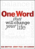 img - for One Word that will Change Your Life book / textbook / text book