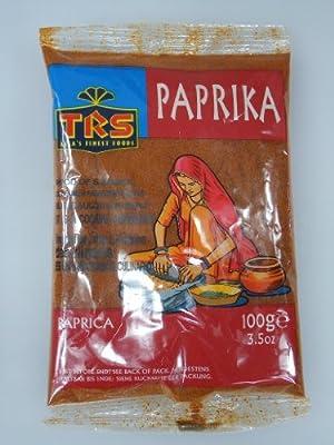 Paprika pulver - Indische Gewürze 100g von TRS bei Gewürze Shop
