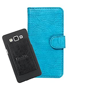 DooDa PU Leather Wallet Flip Case Cover With Card & ID Slots For Microsoft Lumia 950 XL - Back Cover Not Included Peel And Paste