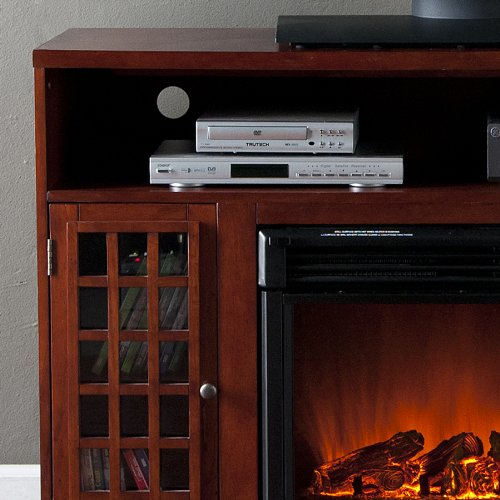 Southern Enterprises FE9303 Narita Media Console Electric Fireplace