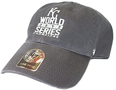 MLB Officially Licensed Kansas City Royals '47 Brand 2015 World Series Champions Slouch Fit Baseball Hat
