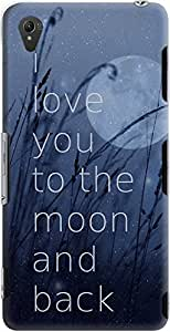 DailyObjects Love You To The Moon Case For Sony Xperia Z3