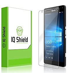 IQ Shield LiQuidSkin - Microsoft Lumia 950 XL Screen Protector & - HD Ultra Clear Film - Protective Guard - Extremely Smooth / Self-Healing / Bubble-Free Shield