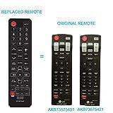 New LG Sound bar Replaced Remote AK