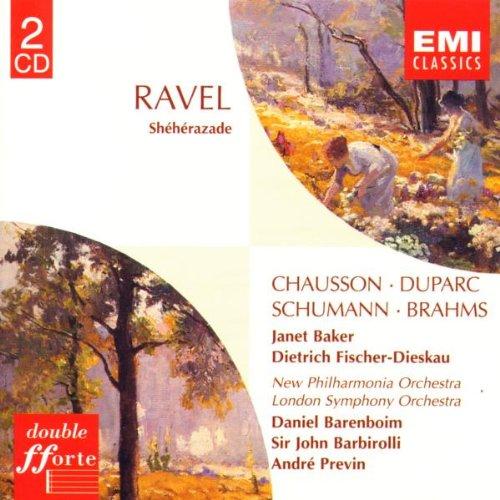 Ravel: Sheherazade / Chausson / Duparc / Schumann / Brahms