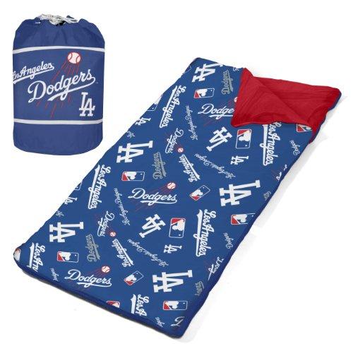 Mlb Dodgers Slumber Duffle, Blue front-1021956