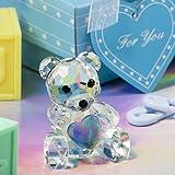 Choice Crystal Collection Teddy Bear Figurine, 1