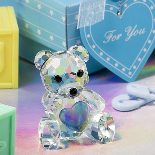 FavorWarehouse Choice Crystal Collection Teddy Bear Figurine, 1 at Sears.com