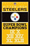 Pittsburgh Steelers Champions Football Poster
