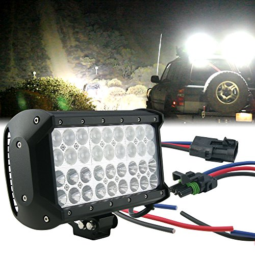 """Lamphus Cruizer Dual-Stacked 9.25"""" 108W Cree Led Off Road Work Light Bar (Other Sizes Available) - Flood/Spot Combo"""