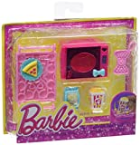 Barbie - Mini accesorio casa glam: set microondas (Mattel X7932)