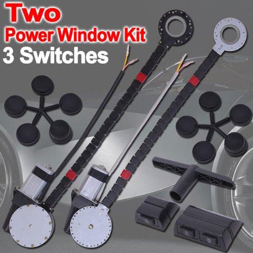 Car Truck Suv Electric Window Conversion Kit 2 Windows