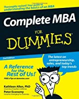 Complete MBA For Dummies, 2nd Edition Front Cover