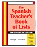 img - for The Spanish Teacher's Book Of Lists (Spanish Edition) book / textbook / text book