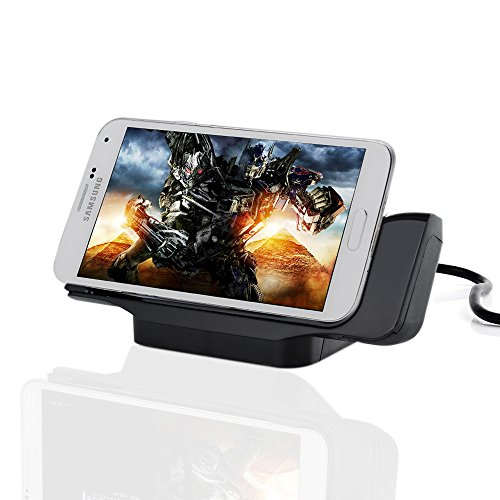Victsing Black Desktop Charging Dock Cradle Charger Station For Samsung Galaxy S5 Siv I9600