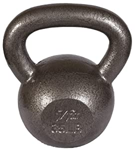 j/fit 30lb Cast Iron Kettlebell