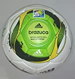 Adidas Brazuca Football (white/green)