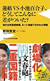 蓮舫VS小池百合子、どうしてこんなに差がついた? - 初の女性首相候補、ネット世論で分かれた明暗 - (ワニブックスPLUS新書)