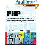 PHP - De l'analyse au développement d'une application professionnelle