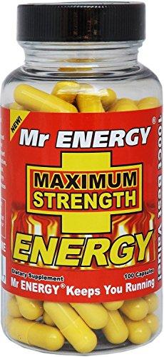 Mr ENERGY Maximum Strength ENERGY Pills - 100 Capsules (Man Energy Pills compare prices)