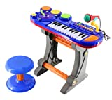 Kids Authority DJ Mixer with Audio synthesizer / Drum established / Keyboard and Microphone – All in one particular Children Piano set