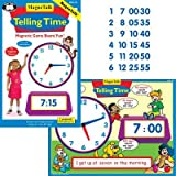 Magnetic Telling Time Game - Super Duper Educational Learning Toy For Kids