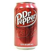 ドクターペッパー 355ml×24缶×12箱セット Dr Pepper 炭酸飲料