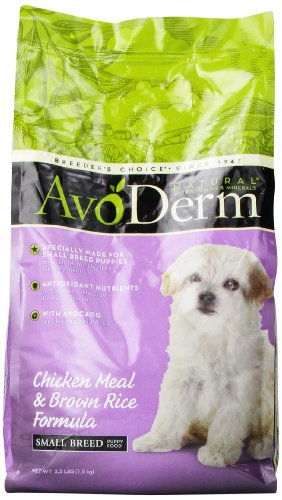 Avoderm Natural Chicken Meal And Brown Rice Formula Small Breed Puppy Food, 3.5-Pound front-215758
