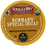 Green Mountain Coffee Newman's Special Decaf,  K-Cup Portion Pack for Keurig K-Cup Brewers, Certified Organic, 24-Count