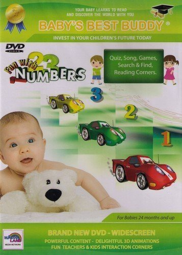 DVD Fun with numbers babies 24 months and up
