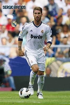 Sergio Ramos Real Madrid Poster | Season 2013 | Ships from USA