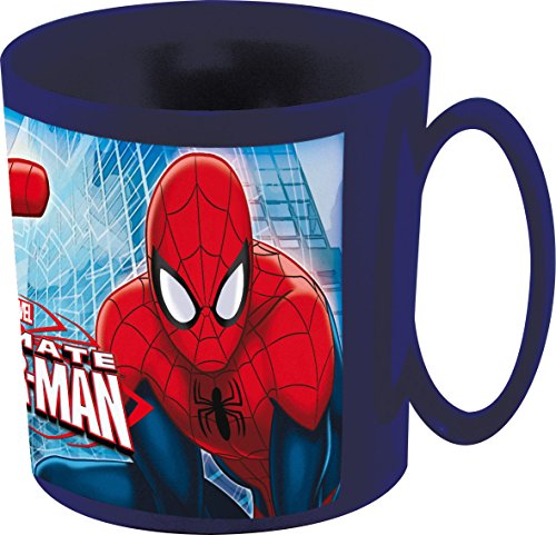 Marvel - Tazza SPIDERMAN  9 X 8.5 CM, Blu