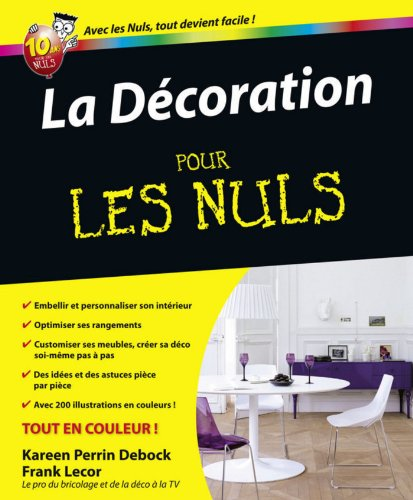 telecharger livre french la d coration pour les nuls en ligne. Black Bedroom Furniture Sets. Home Design Ideas