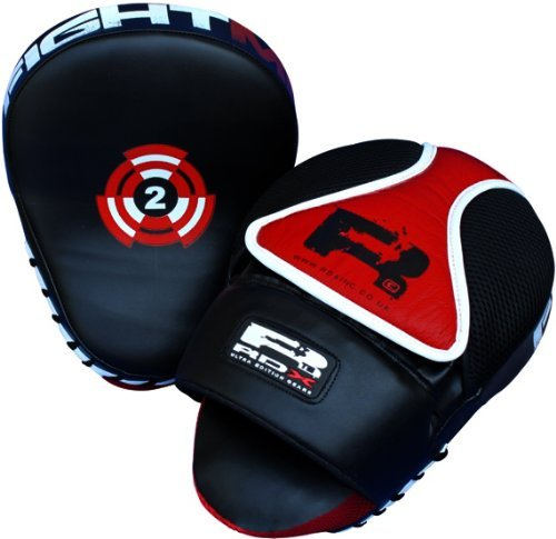 Authentic RDX Focus Pads,Hook & Jab Mitts,Boxing Punch Gloves Bag kick mma ufc