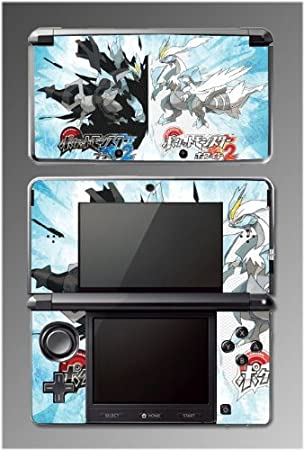 Pokemon Black and White 2 Kyurem Legendary Video Game Vinyl Decal Cover Skin Protector #22 for Nintendo 3DS
