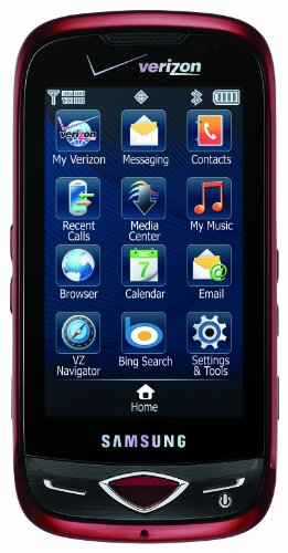 Samsung Reality SCH-U820 Phone, City Red (Verizon