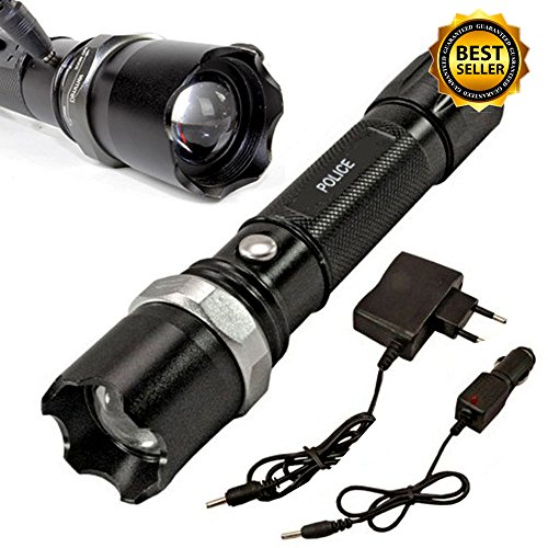 US Shipping Tactical Police Heavy Duty 3W Rechargeable Flashlight (Dirt Quad Controller compare prices)
