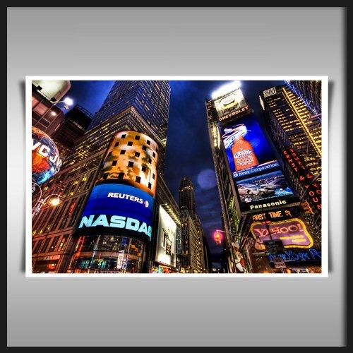 new-york-time-square-nasdaq-art-print-on-artist-quality-280gsm-a4-satin-paper